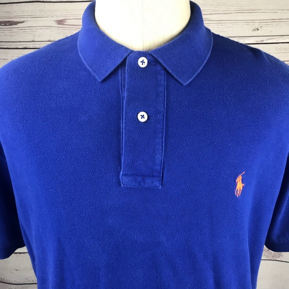 Polo By Ralph Lauren Shirts Mens Large Polo Ralph Lauren Blue Polo